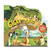 Cover-Bild zu Schwager & Steinlein Verlag: Gigantosaurus Stickern - Malen - Gestalten