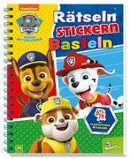 Cover-Bild zu Schwager & Steinlein Verlag: PAW Patrol - Rätseln Stickern Basteln