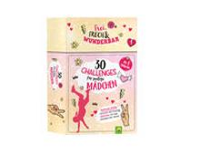 Cover-Bild zu Warkus, Iris: 30 Challenges für mutige Mädchen - Frei, frech, wunderbar - für Mädchen ab 8 Jahren