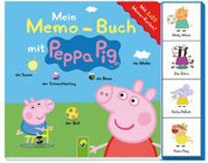Cover-Bild zu Schwager & Steinlein Verlag: Mein Memo-Buch mit Peppa Pig - Mit 2 x 20 Memo-Karten