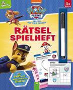 Cover-Bild zu Schwager & Steinlein Verlag: Paw Patrol - Rätselspielheft mit Stift und abwischbaren Seiten