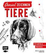 Cover-Bild zu Modzelewski, Andreas M.: Genial zeichnen - Tiere