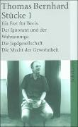 Cover-Bild zu Bernhard, Thomas: Stücke 1