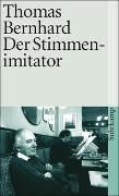 Cover-Bild zu Bernhard, Thomas: Der Stimmenimitator