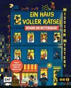 Cover-Bild zu Martin, Paul: Mission Mystery - Ein Haus voller Rätsel: Gefahr um Mitternacht - Band 2