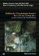 Cover-Bild zu Politische Psychologie heute? (eBook) von Kirchhoff, Christine (Beitr.)