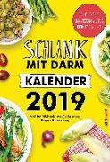 Cover-Bild zu Schlank mit Darm Kalender 2019 Wandkalender von Axt-Gadermann, Michaela