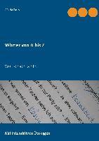 Cover-Bild zu Wörter von A bis Z von Darrah, Gisela