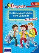 Cover-Bild zu Königsberg, Katja: Erstlesegeschichten vom Schulhof - Leserabe 1. Klasse - Erstlesebuch für Kinder ab 6 Jahren