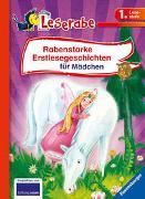 Cover-Bild zu Königsberg, Katja: Rabenstarke Erstlesegeschichten für Mädchen - Leserabe 1. Klasse - Erstlesebuch für Kinder ab 6 Jahren