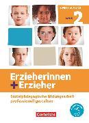 Cover-Bild zu Dasenbrock, Frauke: Erzieherinnen + Erzieher, Neubearbeitung, Band 2, Professionelles Handeln im sozialpädagogischen Berufsfeld, Fachbuch, Mit PagePlayer-App