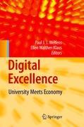 Cover-Bild zu Welfens, Paul J.J. (Hrsg.): Digital Excellence