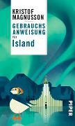 Cover-Bild zu Magnusson, Kristof: Gebrauchsanweisung für Island