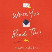 Cover-Bild zu Adkins, Mary: When You Read This