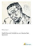 Cover-Bild zu Kraus, Karl: Gedichte und Aufsätze zur deutschen Sprache