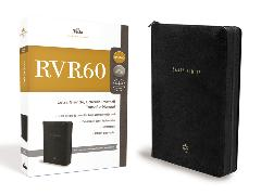 Cover-Bild zu Biblia Reina Valera 1960 Edición Portátil con Cierre, Letra Grande, Tamaño Manual, Leathersoft, Negro, Edición Letra Roja / Spanish Bible RVR60 Lg Print