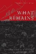 Cover-Bild zu Meyer-Fong, Tobie: What Remains (eBook)