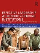 Cover-Bild zu Palmer, Robert T. (Hrsg.): Effective Leadership at Minority-Serving Institutions (eBook)