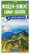 Cover-Bild zu Hallwag Kümmerly+Frey AG (Hrsg.): Moléson - Romont 27 Wanderkarte 1:40 000 matt laminiert. 1:40'000