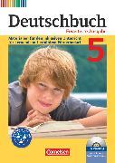 Cover-Bild zu Faber, Gisela: Deutschbuch, Sprach- und Lesebuch, Zu allen erweiterten Ausgaben, 5. Schuljahr, Materialien für den inklusiven Unterricht für Lernende mit erhöhtem Förderbedarf, Kopiervorlagen mit CD-ROM