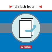 Cover-Bild zu Greisbach, Michaela: Einfach lesen!, Leseprojekte, Leseförderung: Für Lesefortgeschrittene, Niveau 1-3, Produktpaket 2, 60168-6, 60169-3, 60170-9, 61239-2, 60172-3 und 60173-0 im Paket