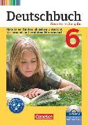 Cover-Bild zu Faber, Gisela: Deutschbuch, Sprach- und Lesebuch, Zu allen erweiterten Ausgaben, 6. Schuljahr, Materialien für den inklusiven Unterricht für Lernende mit erhöhtem Förderbedarf, Kopiervorlagen mit CD-ROM
