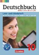 Cover-Bild zu Ellwart, Birgit: Deutschbuch, Sprach- und Lesebuch, Zu allen differenzierenden Ausgaben 2011, 10. Schuljahr, Lern- und Arbeitsheft für Lernende mit erhöhtem Förderbedarf im inklusiven Unterricht, Arbeitsheft mit Lösungen