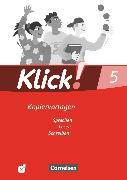 Cover-Bild zu Bähnk, Nina: Klick! Deutsch, Westliche Bundesländer, 5. Schuljahr, Sprechen, Lesen, Schreiben, Kopiervorlagen mit CD-ROM