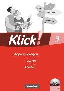 Cover-Bild zu Angel, Margret: Klick! Deutsch, Westliche Bundesländer, 9. Schuljahr, Sprechen, Lesen, Schreiben, Kopiervorlagen mit CD-ROM