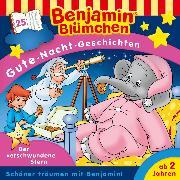 Cover-Bild zu Andreas, Vincent: Benjamin Blümchen - Gute-Nacht-Geschichten 25: Der verschwundene Stern (Audio Download)