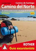 Cover-Bild zu Rabe, Cordula: Camino de Santiago - Camino del Norte (Rother Guía excursionista)