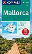 Cover-Bild zu KOMPASS-Karten GmbH (Hrsg.): KOMPASS Wanderkarte Mallorca. 1:35'000