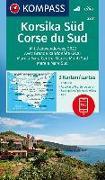Cover-Bild zu KOMPASS-Karten GmbH (Hrsg.): KOMPASS Wanderkarte Korsika Süd, Corse du Sud, Weitwanderweg GR20. 1:50'000
