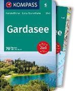 Cover-Bild zu Schulze, Christian: KOMPASS Wanderführer Gardasee. 1:60'000