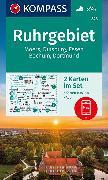 Cover-Bild zu KOMPASS-Karten GmbH (Hrsg.): KOMPASS Wanderkarte Ruhrgebiet. 1:35'000