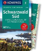 Cover-Bild zu Theil, Walter: KOMPASS Wanderführer Schwarzwald Süd mit Naturpark, Kaiserstuhl und Markgräflerland. 1:75'000