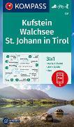 Cover-Bild zu KOMPASS-Karten GmbH (Hrsg.): KOMPASS Wanderkarte Kufstein, Walchsee, St. Johann in Tirol. 1:25'000