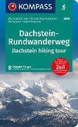 Cover-Bild zu Kompass, Innsbruck: KOMPASS Wanderführer Dachstein-Rundwanderweg. 1:55'000