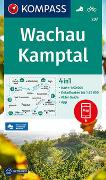 Cover-Bild zu KOMPASS-Karten GmbH (Hrsg.): KOMPASS Wanderkarte Wachau, Kamptal. 1:50'000