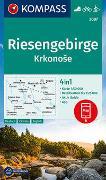 Cover-Bild zu KOMPASS-Karten GmbH (Hrsg.): KOMPASS Wanderkarte Riesengebirge, Krkonose. 1:50'000