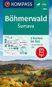 Cover-Bild zu KOMPASS-Karten GmbH (Hrsg.): KOMPASS Wanderkarte Böhmerwald, Sumava. 1:50'000
