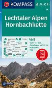 Cover-Bild zu KOMPASS-Karten GmbH (Hrsg.): KOMPASS Wanderkarte Lechtaler Alpen, Hornbachkette. 1:50'000