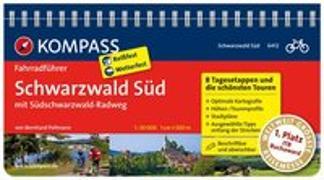 Cover-Bild zu Pollmann, Bernhard: KOMPASS Fahrradführer Schwarzwald Süd mit Südschwarzwald Radweg. 1:50'000