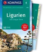 Cover-Bild zu Wille, Franz: KOMPASS Wanderführer Ligurien mit Cinque Terre. 1:50'000