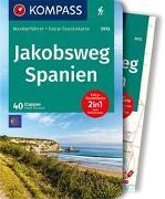 Cover-Bild zu Harnach, Klaus: KOMPASS Wanderführer Jakobsweg Spanien. 1:110'000