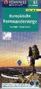 Cover-Bild zu KOMPASS-Karten GmbH (Hrsg.): KOMPASS Fernwegekarte Fernwanderwege Europa, Long-Distance-Paths Europe. 1:2'500'000