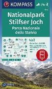 Cover-Bild zu KOMPASS-Karten GmbH (Hrsg.): KOMPASS Wanderkarte Nationalpark Stilfserjoch, Parco Nazionale dello Stelvio. 1:50'000