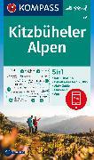 Cover-Bild zu KOMPASS-Karten GmbH (Hrsg.): KOMPASS Wanderkarte Kitzbüheler Alpen. 1:50'000