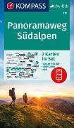 Cover-Bild zu KOMPASS-Karten GmbH (Hrsg.): Panoramaweg Südalpen 218. 1:50'000