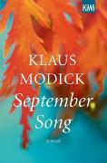Cover-Bild zu Modick, Klaus: September Song